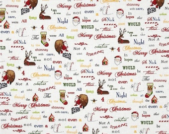 Christmas Words From Robert Kaufman's Holly Jolly Christmas 3 Collection