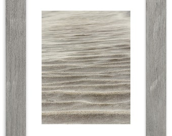 Sand Dunes Eolian Features Matted Print