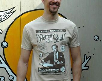 Breaking Bad 'Better Call Saul' Screen printed T Shirt