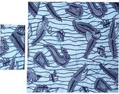 MARINA African Wax Print Cloth Napkins Set of 2