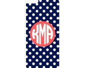 Monogrammed Phone Case - Iphone 4/4S - Iphone 5/5S - Iphone 6/6plus - Samsung Galaxy S4 / S5