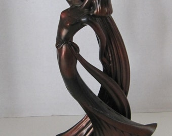 Beautiful Art Nouveau Dancing Figurine