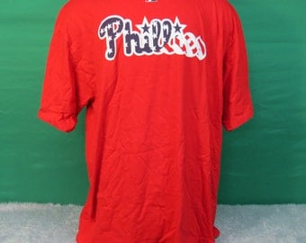 Philadelphia Phillies Baseball T-shirt Adult 2XL - #105