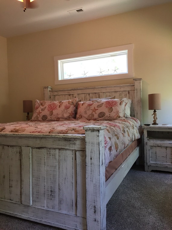 reclaimed wood bed frame by reclaimed4apurpose on etsy