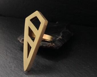 Pierced Shield  - Brass