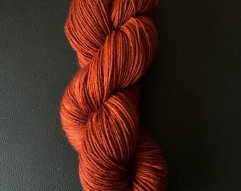 "Sock yarn ""Brunette Blunderbuss"""