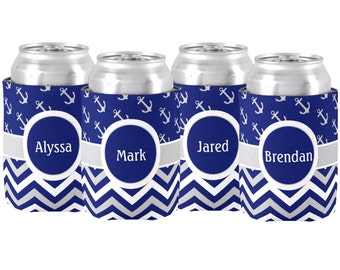 Personalized Can Monogrammed Koolie Coozie Beverage Holder