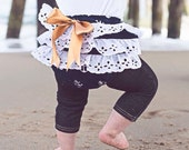 Baby Girl Bloomer-Fall-Nautical diaper cover-ruffle diaper cover-Navy Anchor-Spring-Baby Girl Nautical-Photo Prop