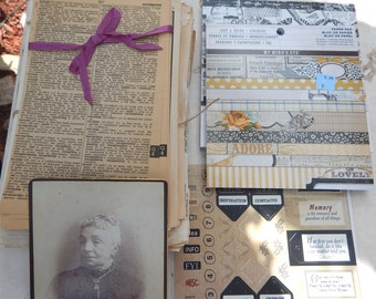 Paper Ephemera   ~  Paper Crafting Supplies  ~  Large Lot of Ephemera