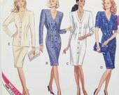 Butterick pattern 3130, vintage dress pattern 1989, sewing pattern for dresses