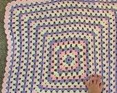 Custom crochet baby blanket