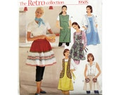 Apron Pattern McCall's 2811 Retro Collection 1950s Look