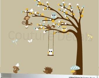Baby Nursery Decal, Nursery Wall Decal, Nursery Decal, Children's Wall Decal, Nursery Decal, Wall Decal, Wall Decal, Owls Decals