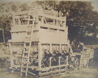 Vintage RPPC - Real Photo Postcard - Occupational - Industrial - Mill Workers - Rock Quarry