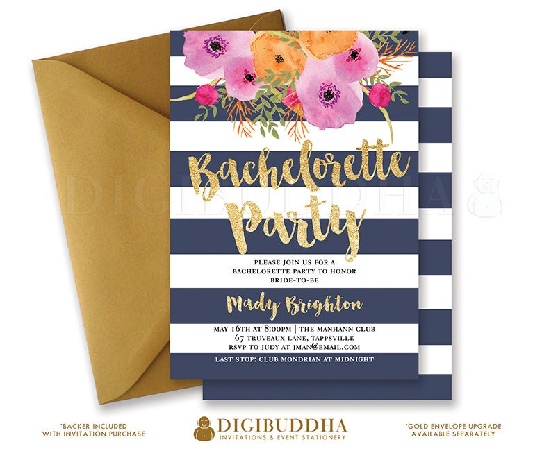 Free Printable Bachelorette Party Invitations – gangcraft.net