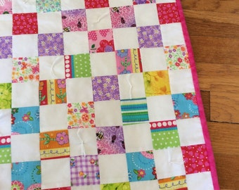 Bright Thousand Square Quilt