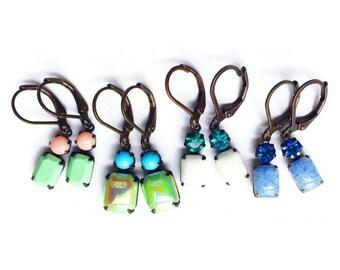 Small Pretty Dangle Earrings