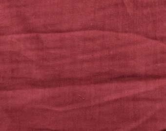 "54"" Burgundy Gauze Fabric-15 Yards Wholesale by the Bolt"