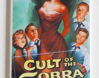 Cult of the Cobra Movie Poster Fridge Magnet (1.5 x 4.5 inches)