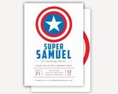 Invitation: Captain America