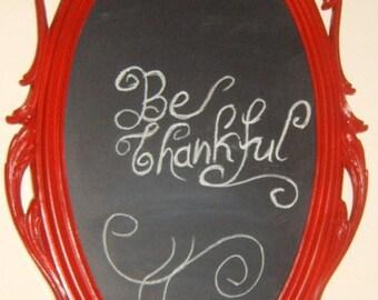 Take 40% Off,  Vintage , Syroco Frame with Chalkboard,  Chalk Marker, Red Frame, Painted Frame, Chalkboard,hower, Kitchen, Hollywood Regency