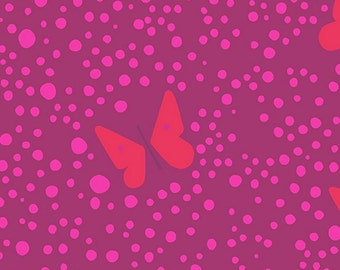 Andover - Lizzy House - Butterflies - Pink