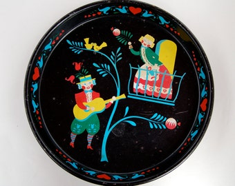 1960's Dutch Metal Tray