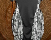 Tmd original gritty streets of NY cocoon dress custom order only flatters all sizes