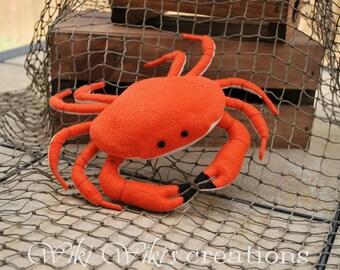 Felt Food Crab