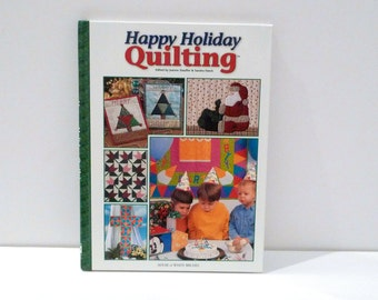 Christmas Holiday Quilting Book 1990s Hardback Quilters Shamrocks Easter Mothers Day Fireworks Birthday Columbus Four Seasons Craft How To