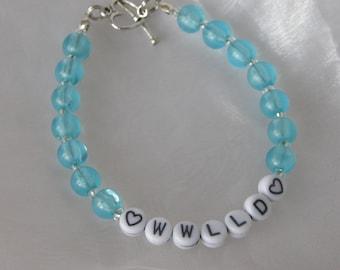 What Would Liz Lemon Do? Bracelet - Blue