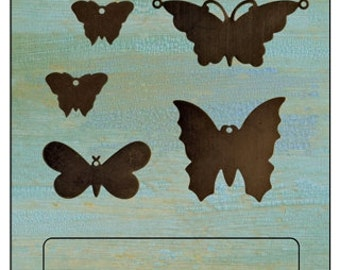 VIntaj Butterflies Altered Blanks (5 pcs/pkg)