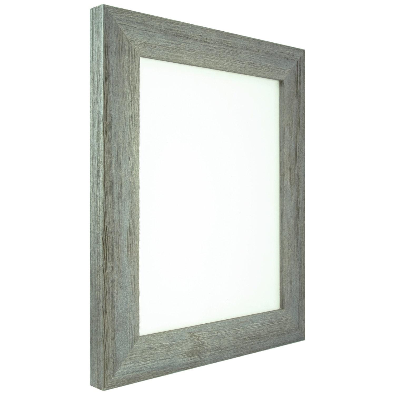 craig frames 12x12 inch shabby gray frame shell barnwood. Black Bedroom Furniture Sets. Home Design Ideas