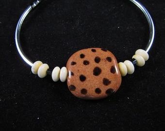 Kazuri bead hand beaded bracelet, kazuri bead bracelet, Kazuri bracelet, hand beaded bracelet, noodle bead bracelet