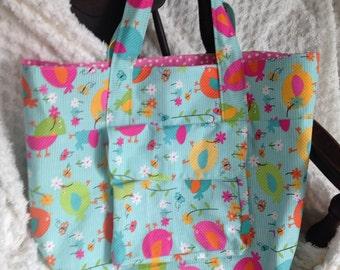 Spring Chicks - Overnight/Travel Bag - Childrens or Adult