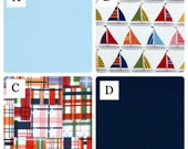 Diaper Stacker Nautical Preppy Sail Boats Nursery Decor