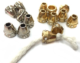 10 PCS Cylinder Conus shaped cord locks spring stoppers