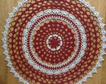 Doily Table Linen Home Decoration Placemat Centerpiece / Tabletop Decor/Wedding Decor