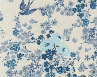 Nani Iro Japanese double gauze fabric - 1/2 YD