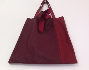 Handmade Kolya tote bag made from recycled leather