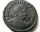 RESERVED - Ancient Roman Imperial Coin: Gratian 367-383 CE (Over 1600 Years Old) - 025