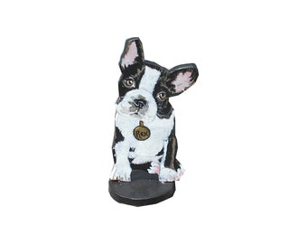 Custom Dog Portrait 2 D Figurine