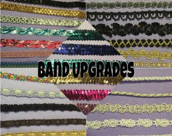 UPGRADE for a Goddess Flower Crown Band - Specialty Band Upgrade