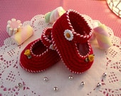 Crochet BABY SHOES Pattern - Little Lilly Baby crochet Shoes Pattern ballerina for babies girsl pdf pattern Instant Download