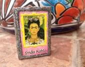 Frida Kahlo and Hand Matchbox