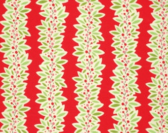 Ginger Snap by Heather Bailey for Free Spirit - Garland - Red - 1/2 yard cotton quilt fabric 516