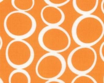 Mixed Bag from Studio M for Moda - Bubbles - Orange - FQ Fat Quarter yard cotton quilt fabric 516