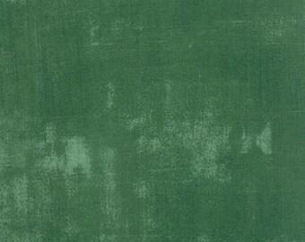 Basicgrey - Grunge for Moda - Dark Green - Evergreen - 266 - Fat Quarter FQ Cotton Quilt Fabric 516