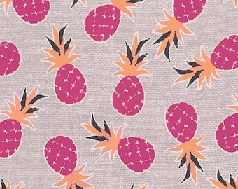 Pineapple Palm (Fuchsia) - Migration - Michael Miller Fabrics - 1 Yard