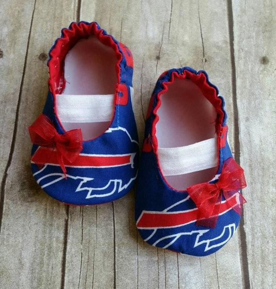 Buffalo Bills Baby Maryjane Booties